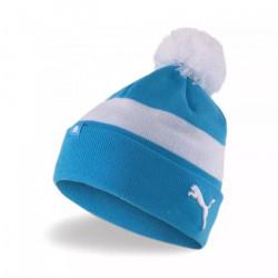 Bonnet Olympique de Marseille II - bleu azur/blanc - TU