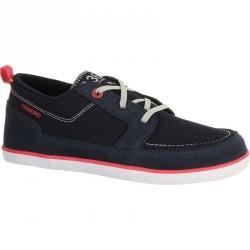 Chaussures bateau enfant KOSTALDE bleu foncé