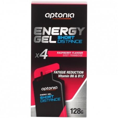 Gel énergétique ENERGY GEL SHORT DISTANCE Framboise 4x32g