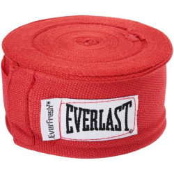 Mannequin D'Entrainement EVERLAST Boxing 180- Pro Style Hand Wraps, Red, 1 Pair Y76A5