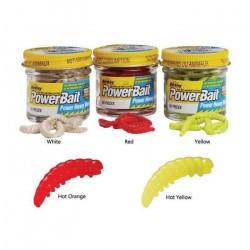 Appât Berkley PowerBait Honey Worm - Par 55 Spring Green