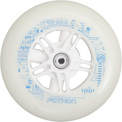 Powerslide roues Infinity lumineuses 145 mm/82A blanches chacune