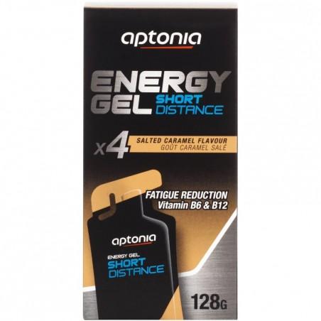 Gel énergétique ENERGY GEL SHORT DISTANCE Caramel beurre salé 4x32g