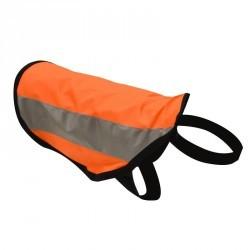 Gilet chien visibilité fluo 100