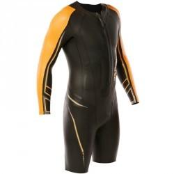 Combinaison natation néoprène shorty OWS 900 5/2mm homme eau froide