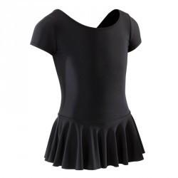 Tunique de danse classique fille noire.