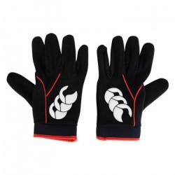 Gants rugby - Cold Gloves - Canterbury M Noir