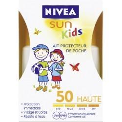 NIVEA LAIT PROTECT KIDS POCHE FPS50