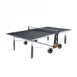 TABLE DE TENNIS DE TABLE FREE CROSSOVER 240S OUTDOOR GRISE AVEC HOUSSE
