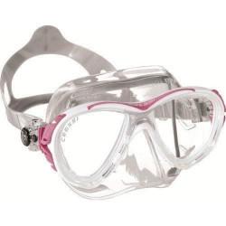 Cressi  Eyes Evolution Crystal Masque de plongée Femme Rose - DS350040