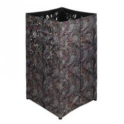 Affût carré  camouflage marron