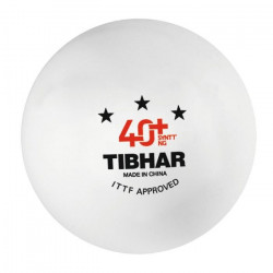 Balles De Tennis De Table TIBHAR SYNTT NG 40+ 3 Etoiles (Boîte de 3)