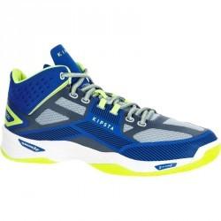 Chaussures mid homme de volley-ball V500 bleu