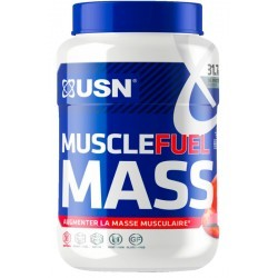 USN NUTRITION MUSCLE FUEL MASS STRAW 750G