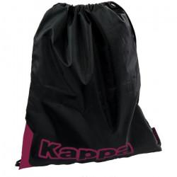 Lot de 6 sacs de gym Kappa Ysika - noir-rose - TU