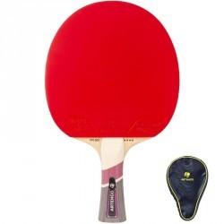 Raquette de ping pong et housse TTR 560 & Housse