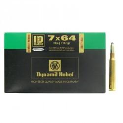 Munitions de chasse 7x64 ID Classic 11,5gX20