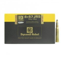 Munitions RWS 8X57JRS ID Classic 12.8g 198 grains