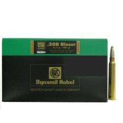 Munition RWS Calibre 30 R Blaser Uni classic 11.7gX20