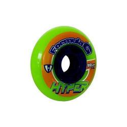 Hyper roues pour rollers pour homme formula g era vert fluo/bleu - 76, 72400