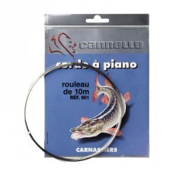 MONTURES PECHE AU MANIE CORDE A PIANO 30/100