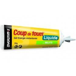 Overstims Gel Énergie Instantanée Coup de Fouet - Mojito Diététique Gels