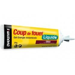 Overstims Gel Énergie Instantanée Coup de Fouet - Cola Diététique Gels