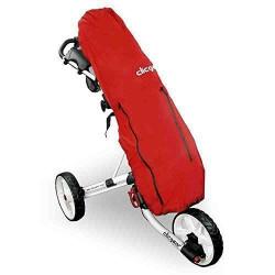 Clicgear  Trolley avec housse de pluie Rouge - TRCCARC