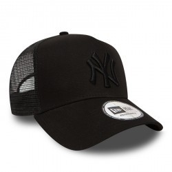 NEW ERA CLEAN TRUCKER NY NOIR
