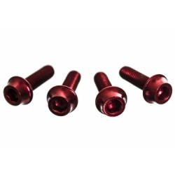 A2Z Vis de porte bidon extra light Rouge X 4 pièces