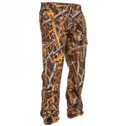 Pantalon chasse Steppe 300 camouflage marais