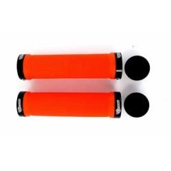 SB3 Paire de Grips KHEOPS Lock On Orange Noir