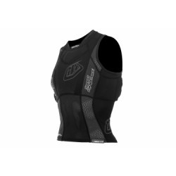 TROY LEE DESIGNS Gilet de Protection Sans Manches Sans Dorsale 3800 Noir