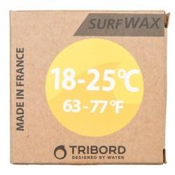 Wax surf eau chaude 18 à 25°C jaune