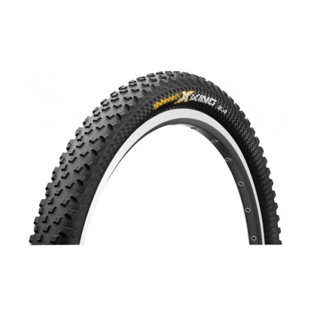 CONTINENTAL Pneu X-KING 26´´ Souple Protection Black Chili Tubeless Ready