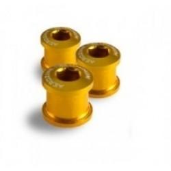 AEROZINE Kit de 5 vis 5mm + cheminées Or