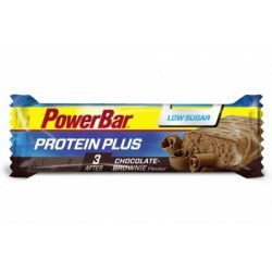POWERBAR Barre PROTEIN PLUS LOW SUGAR 35gr Chocolat Brownie