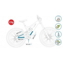 CLEARPROTECT Kit Protections Invisibles de Vélo Pack Xtrem