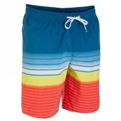 Boardshort mi-long homme Quiksilver HighLine orange