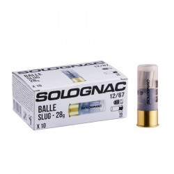 Cartouche Balle Slug 28gr CAL12 X10