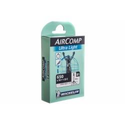 MICHELIN Chambre à air B1 AIRCOMP Ultralight 650 x 18/23 Valve Presta 60mm