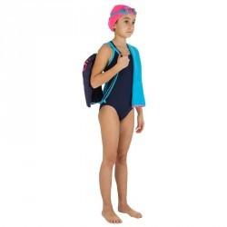 Kit complet natation pour fille Leony + bleu rose