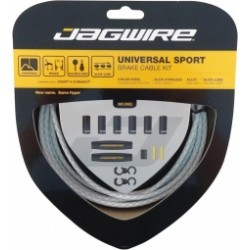 JAGWIRE Kit câbles et gaines pour dérailleurs UNIVERSAL SPORT SHIFT Blanc Tressé