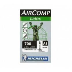 Michelin Chambre à air Route A1 AIRCOMP Latex 700x22/23 Valve Presta 40mm