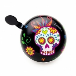 ELECTRA Sonnette Sugar Skulls Noir
