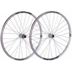 SPANK Paire de roues 27.5´´ OOZY TRAIL 260 15mm/12x142mm Chrome