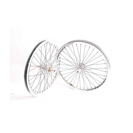 PRIDE Paire de roues RIVAL EXP Expert 1-3/8 Argent