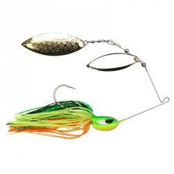 SPINNERBAITS PECHE POWERSPINNER DB FIRETIGER3/8OZ