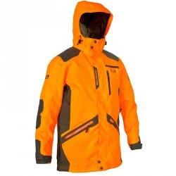 Parka Supertrack imperméable fluo