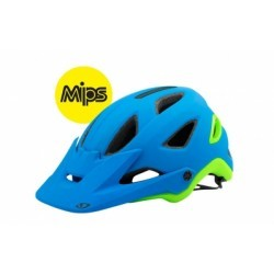 Casque All Mountain GIRO MONTARO MIPS Bleu Vert Mat